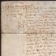 DÉTAILS  01   Document Historique sur Parchemin - Règne de Louis XIII de France - 1604 - France XVIIème Siècle