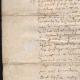 DÉTAILS  02   Document Historique sur Parchemin - Règne de Louis XIII de France - 1604 - France XVIIème Siècle