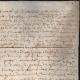 DÉTAILS  03   Document Historique sur Parchemin - Règne de Louis XIII de France - 1604 - France XVIIème Siècle