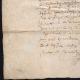 DÉTAILS  05   Document Historique sur Parchemin - Règne de Louis XIII de France - 1604 - France XVIIème Siècle