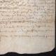 DÉTAILS  06   Document Historique sur Parchemin - Règne de Louis XIII de France - 1604 - France XVIIème Siècle