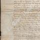 DÉTAILS  02 | Document Historique sur Parchemin - Règne de Louis XIII de France - 1623 - France XVIIème Siècle