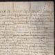 DÉTAILS  03 | Document Historique sur Parchemin - Règne de Louis XIII de France - 1623 - France XVIIème Siècle
