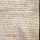 DÉTAILS  04 | Document Historique sur Parchemin - Règne de Louis XIII de France - 1623 - France XVIIème Siècle
