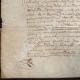 DÉTAILS  05 | Document Historique sur Parchemin - Règne de Louis XIII de France - 1623 - France XVIIème Siècle