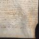 DÉTAILS  06 | Document Historique sur Parchemin - Règne de Louis XIII de France - 1623 - France XVIIème Siècle