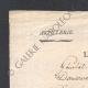 DÉTAILS  06   Guerres Napoléoniennes - 1811 - Artillerie - Général de Division St Laurent - Permission Accordée au Chef de Bataillon