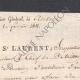 DÉTAILS  08   Guerres Napoléoniennes - 1811 - Artillerie - Général de Division St Laurent - Permission Accordée au Chef de Bataillon