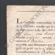 DETTAGLI  06   Napoleone - Il Consolato - 1802 - Bordeaux - Amnistia Concessa a un Disertore