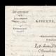 DÉTAILS  01   Napoléon - Le Consulat - 1801 - Châteaubriant - Fourniture de Pain faite aux Prisonniers