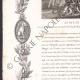 DÉTAILS  07 | Guerres de la Révolution Française - 1796 - 8ème Régiment d'Artillerie - Attestation de Service comme Chef Artificier