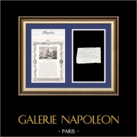 Napoleon - The Consulate - 1800 - Caen - Housing Authorization of a Military Citizen - Rue Egalité Section Liberté | Historical Document on laid paper dated 1800 (26 Germinal An VIII), biography and antique print of Charles Pierre François Augereau