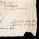 DÉTAILS  05 | Napoléon - Premier Empire - 1813 - Italie - Florence - Billet de Logement d'un Citoyen Engagé Militaire