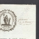 DÉTAILS  03   Révolution Française - 1794 - Armée du Rhin - Gendarmerie Nationale - Certificat de service, civisme et patriotisme pour le brigadier Laurent Godequin