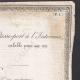 DÉTAILS  03   Monarchie de Juillet - Louis-Philippe I - 1836 - Passe-port à l'Intérieur pour un Capitaine d'Artillerie de Marine