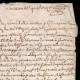 DÉTAILS  02 | Manuscrit - Epoque Louis XIV (1674) | Portrait équestre de Louis XIV (Charles Le Brun)