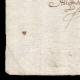 DÉTAILS  03 | Manuscrit - Epoque Louis XIV (1650) | Portrait de Louis XIV (Henri Testelin)