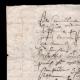 DÉTAILS  01 | Manuscrit - Epoque Louis XIV (1649) | Portrait de Louis XIV (Charles Le Brun)
