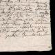 DÉTAILS  04 | Manuscrit - Epoque Louis XIV (1649) | Portrait de Louis XIV (Charles Le Brun)