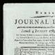 DÉTAILS  01   Révolution Française - Journal de Paris - Samedi 4 Juillet 1789   Portrait de Marianne - Figure symbolique de la République française