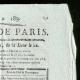 DÉTAILS  02   Révolution Française - Journal de Paris - Samedi 4 Juillet 1789   Portrait de Marianne - Figure symbolique de la République française