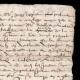 DÉTAILS  02 | Manuscrit - Epoque Henri IV (1606) | Portrait de Henri IV (Frans Pourbus le Jeune)