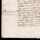 DÉTAILS  03 | Manuscrit - Epoque Henri IV (1606) | Portrait de Henri IV (Frans Pourbus le Jeune)