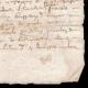 DETAILS  04 | Manuscrito - Período Luís XIII (1614) | Retrato de Luís XIII de França (Simon Vouet)