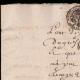 DETAILS  01 | Manuscript - Louis XIV Period - Généralité de Paris (1706) | Portrait of Louis XIV of France (1638-1715)