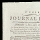 DETAILS  01 | French Revolution - Journal de Paris - Sunday, July 5, 1789 | Portrait of Marianne - National Personification of the French Republic