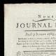 DETAILS  01   French Revolution - Journal de Paris - Thursday, July 9, 1789   Portrait of François Christophe Kellermann (1735-1820)