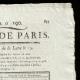 DETAILS  02   French Revolution - Journal de Paris - Thursday, July 9, 1789   Portrait of François Christophe Kellermann (1735-1820)