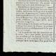 DÉTAILS  03 | Révolution Française - Journal de Paris - Dimanche 12 Juillet 1789 | La Prise de la Bastille - Arrestation de M. de Launay (Jean Dubois)