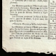 DÉTAILS  03 | Révolution Française - Journal de Paris - Samedi 6 Juin 1789 | Calendrier Républicain - Ventôse