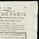 DETAILS  02 | French Revolution - Journal de Paris - Monday, July 13, 1789 | Portrait of singer Simon Chenard in sans-culotte costume (Louis Léopold Boilly)