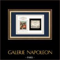 Asignado de 50 sols - Revolución Francesa - 1793 | Napoleón en el paso de San Bernardo (Jacques-Louis David) | Asignado de 50 sols del año 1793 (An 2 de la République)