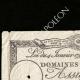DÉTAILS  01 | Assignat de 25 sols - Révolution Française - 1792 | Portrait de Manon Roland (1754-1793)