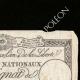 DETALLES  02 | Asignado de 25 sols - Revolución Francesa - 1792 | Retrato de Manon Roland (1754-1793)