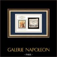 Asignado de 50 sols - Revolución Francesa - 1793 | Retrato de Maximilien de Robespierre (1758-1794) | Asignado de 50 sols del año 1793 (An 2 de la République)