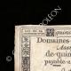 DETALLES  01 | Asignado de 15 sols - Revolución Francesa - 1792 | Retrato de Ladislas Ignace de Bercheny (1689-1778)