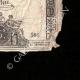 DETALLES  04 | Asignado de 15 sols - Revolución Francesa - 1792 | Retrato de Ladislas Ignace de Bercheny (1689-1778)