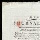 DÉTAILS  01 | Révolution Française - Journal de Paris - Mardi 14 Juillet 1789 | La Prise de la Bastille - Arrestation de M. de Launay (Jean Dubois)