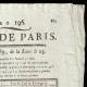 DÉTAILS  02   Révolution Française - Journal de Paris - Mercredi 15 Juillet 1789   La Liberté guidant le peuple (Eugène Delacroix)