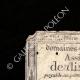 DÉTAILS  01 | Assignat de 10 sous - Révolution Française - 1792 | Portrait de Bonaparte - Pont d'Arcole (Antoine-Jean Gros)