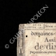 DETAILS  01 | Assignat of 10 sous - French Revolution - 1792 | Bonaparte - French campaign in Egypt