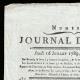 DETAILS  01 | Revolução Francesa - Journal de Paris - Quinta-feira, dia 16 de Julho de 1789 | Um Vencedor da Bastilha (Charles Thevenin)