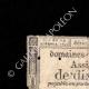 DÉTAILS  01 | Assignat de 10 sous - Révolution Française - 1792 | Discours de Camille Desmoulins au Palais Royal (12 juillet 1789)