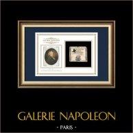 Assignat de 10 sous - Révolution Française - 1792   Portrait de Nicolas de Condorcet (1743-1794)   Assignat de 10 sous de l'année 1792 (An 1 de la République)