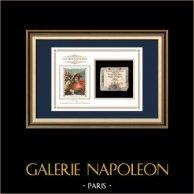 Asignado de 15 sols - Revolución Francesa - 1793 | Napoleón en el paso de San Bernardo (Jacques-Louis David) | Asignado de 15 sols del año 1793 (An 2 de la République)
