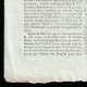 DÉTAILS  03   Révolution Française - Journal de Paris - Vendredi 17 Juillet 1789   Portrait du chanteur Simon Chenard en costume de sans-culotte (Louis Léopold Boilly)